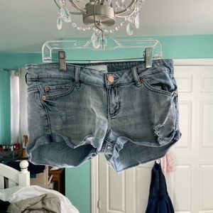 Medium Wash Short Shorts
